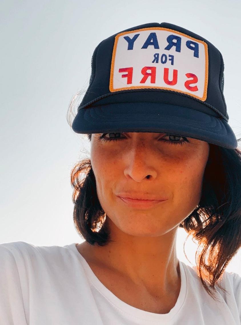 Emilie Dingli Pray for surf