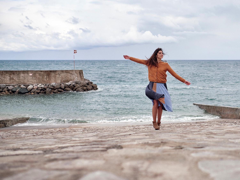 Emilie Dingli - photo au port