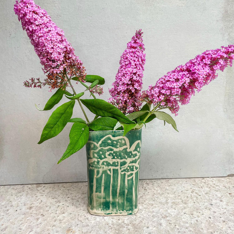 Vase pins des Landes